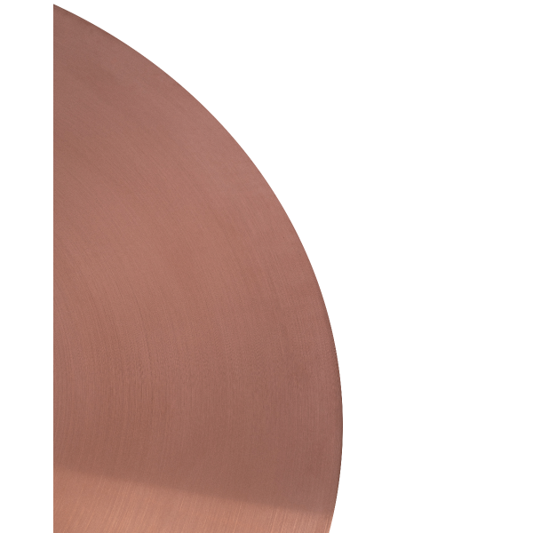 Zeus Large Coffee Height Table Base (Rose Gold)