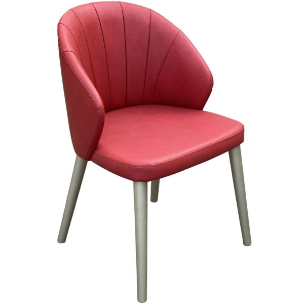Ambrosia Fluted Full Back Side Chair
