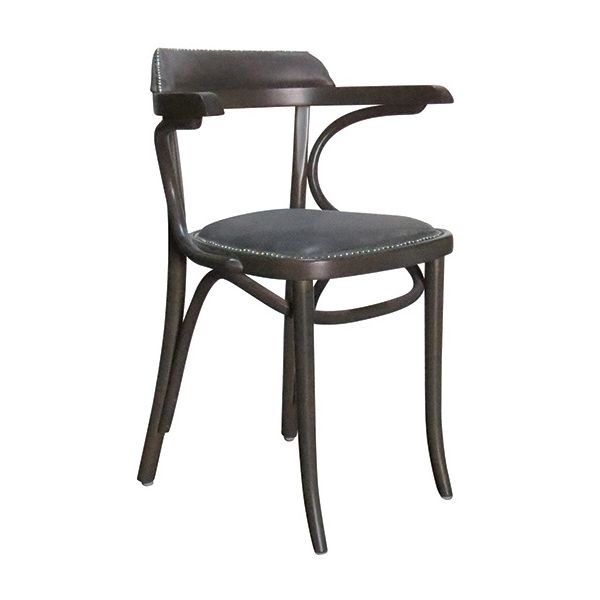 Bentwood Jerry UPH Open Arm Carver Chair