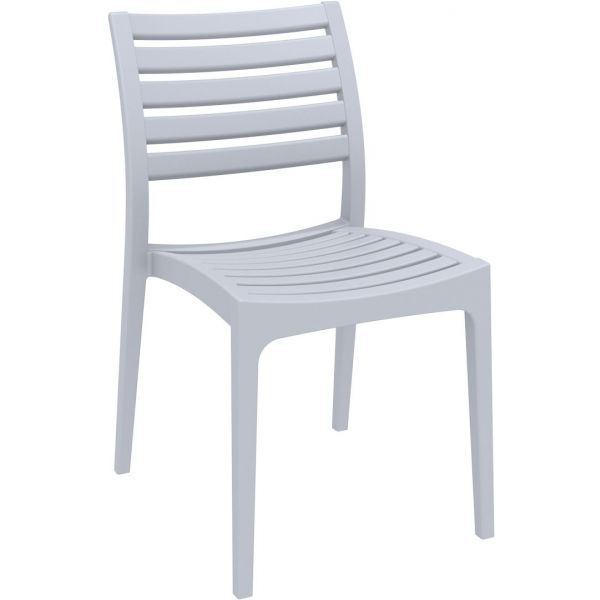 Ares Side Chair (Silver Grey)