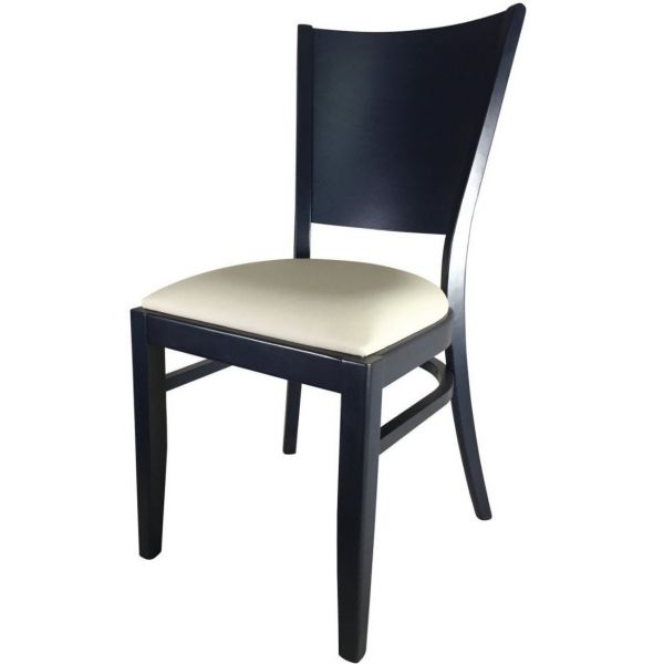 Atlantic Solid Back Stacking Side Chair