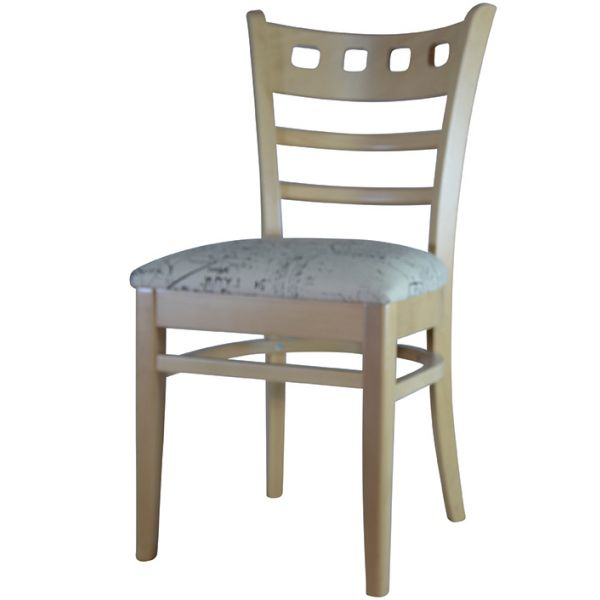 Baltimore UPH Square Hole Side Chair