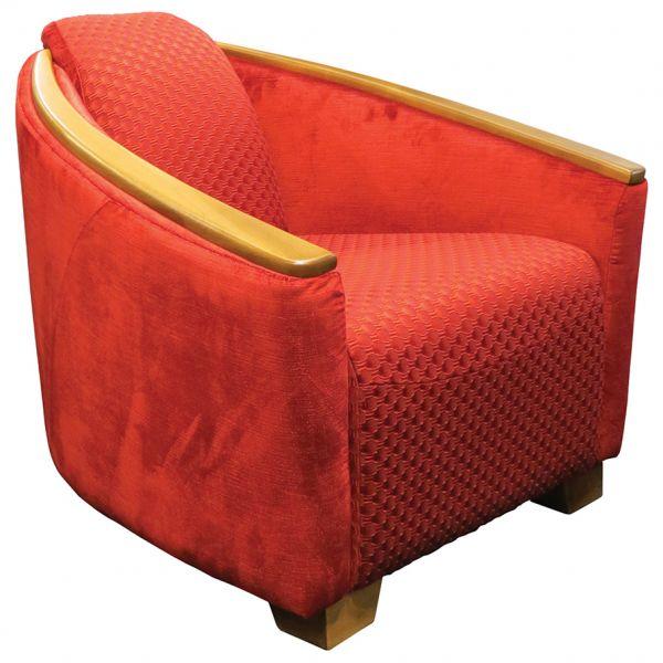Brando Wooden Top Tub Chair