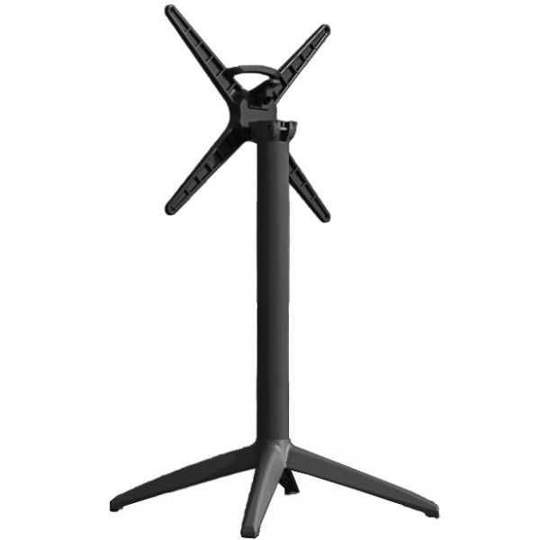 Cafe Flip Top Dining Height Table Base