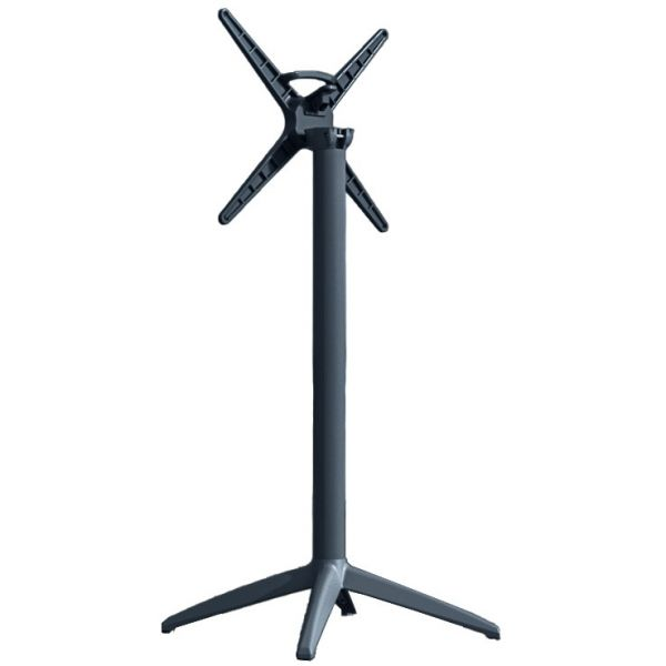 Cafe Flip Top Poseur Height Table Base