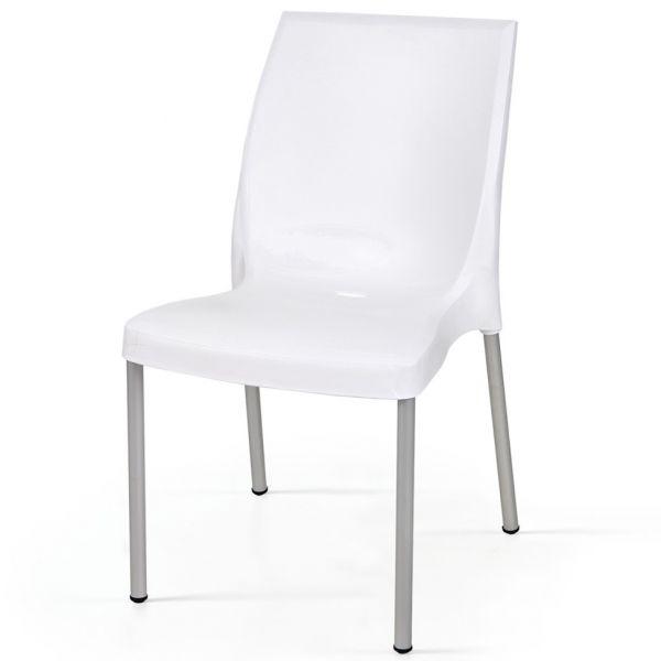Cindy Aluminium Side Chair
