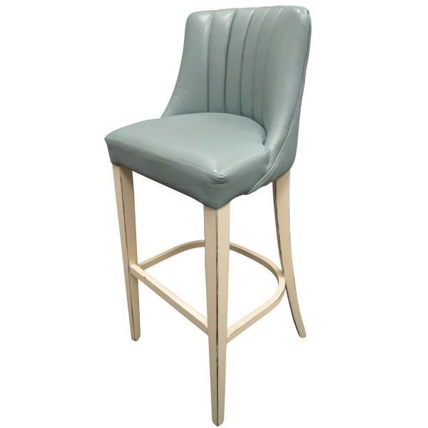 Leona Fluted Back High Chair