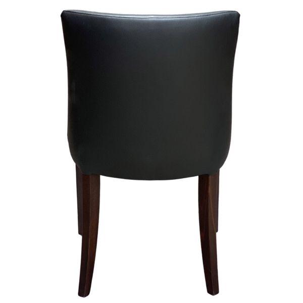 Leona Side Chair (Vena Black)