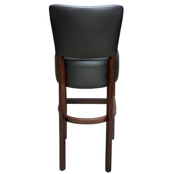 Memphis Standard High Chair (Vena Black / Walnut)