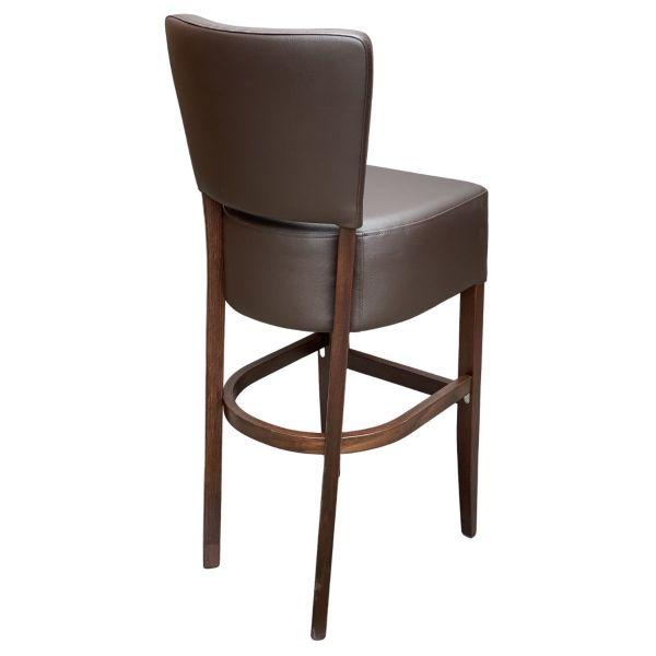 Memphis Standard High Chair (Vena Brown / Walnut)