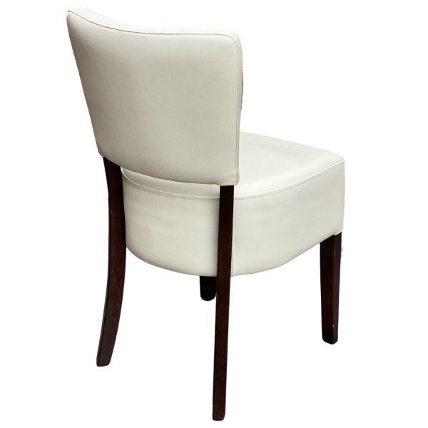 Memphis Standard Side Chair (Ivory / Walnut)