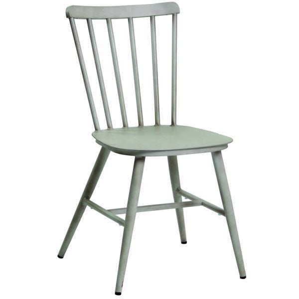 Sixty Aluminium Side Chair (Ivory)
