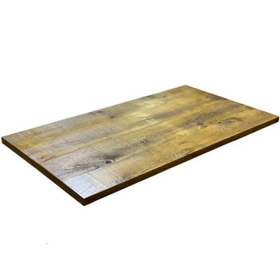 Rectangle Polished Reclaimed Table Top 35mm
