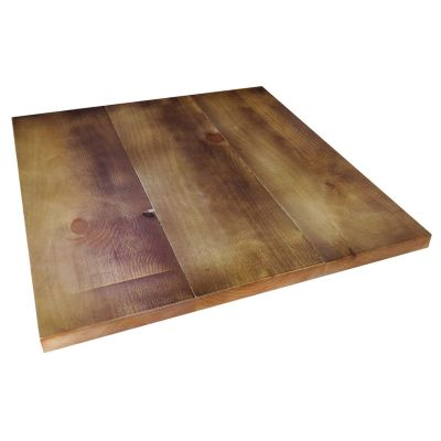 Square Polished Reclaimed Table Top 70mm