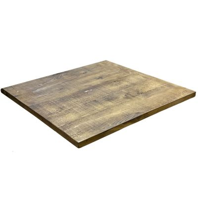 Square Rustic Reclaimed Table Top 70mm