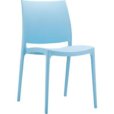 Maya Side Chair (Light Blue)