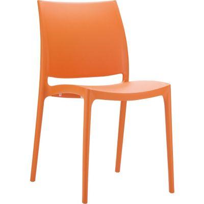 Maya Side Chair (Orange)