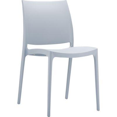 Maya Side Chair (Silver Grey)