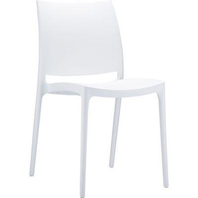 Maya Side Chair (White)
