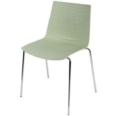 Flex Four Metal Leg Stacking Side Chair