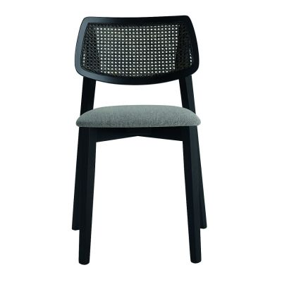 Alma Cane Back Stacking Side Chair