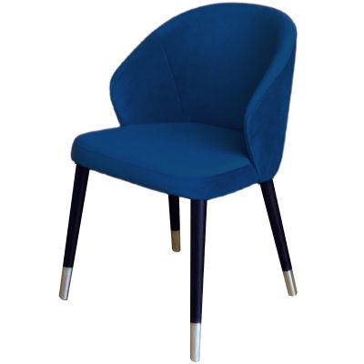 Ambrosia Golden Feet Full Back Side Chair