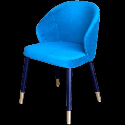 Ambrosia Golden Feet Full Back Side Chair