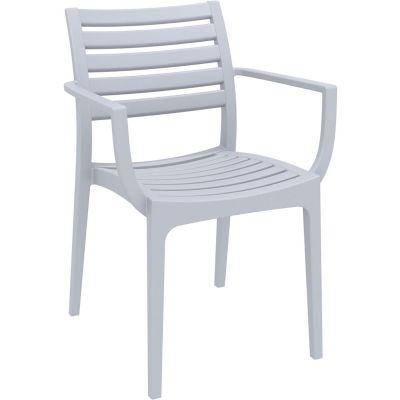 Artemis Arm Chair (Silver Grey)