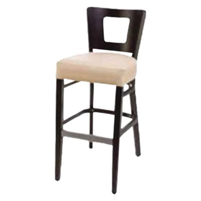 Atlantic Solid Back High Chair with Hole