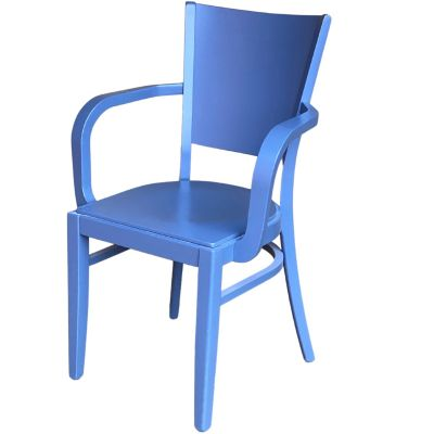 Atlantic Open Arm Stacking Carver Chair