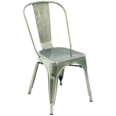 Scorpio Side Chair (Silver)