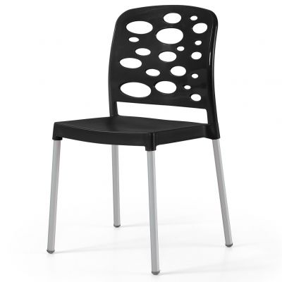 Bubble Aluminium Side Chair
