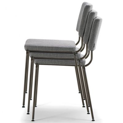 Caffe Stacking Side Chair