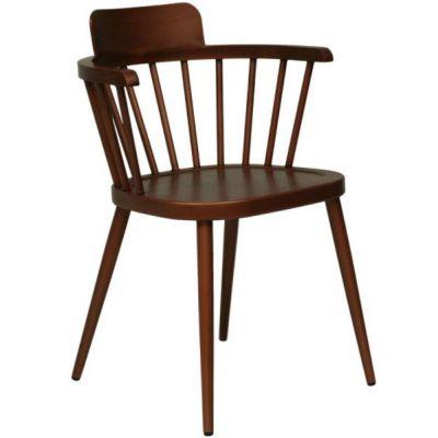 Captains Aluminium Arm Chair (Copper)