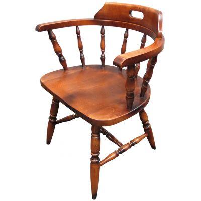 Captains Open Arm Carver Chair