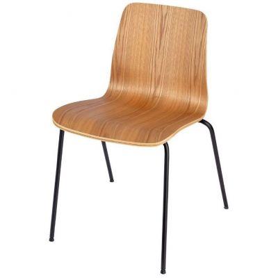Copenhagen Four Metal Leg Side Chair