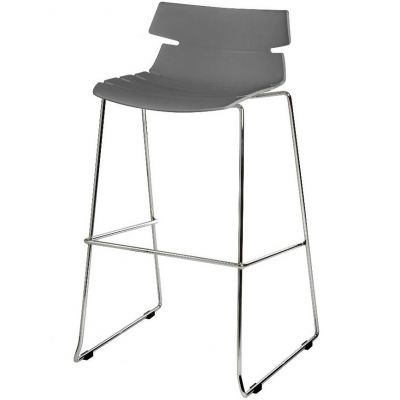 Coxton Skid Base Stackable High Chair