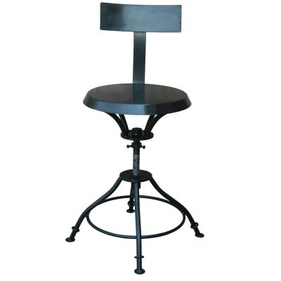 Industrial High Stool 4