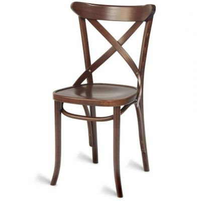 Bentwood Victoria Cross Back Side Chair