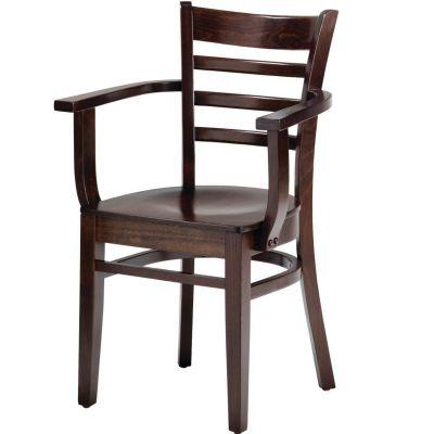 Dane Open Arm Carver Chair