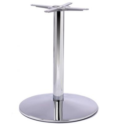 Dome Medium AC Table Base (Chrome)