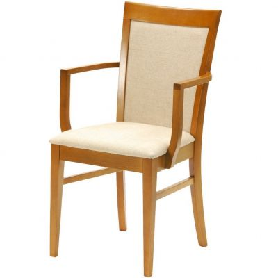 Drake Open Arm Carver Chair