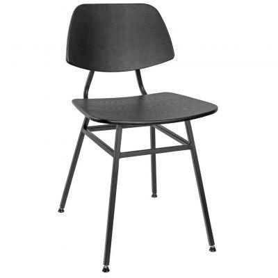 Fleur Side Chair (Black)