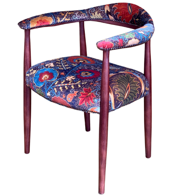 Flight UPH Open Arm Carver Chair