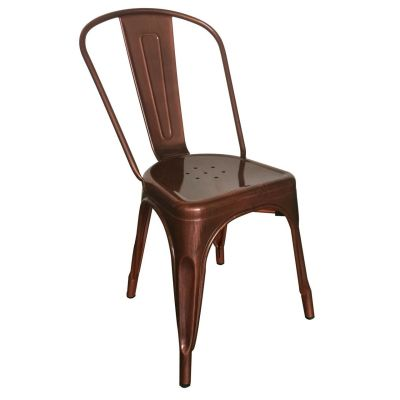 French Bistro Side Chair (Copper)