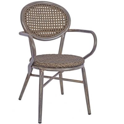Lens Arm Chair (Grey)