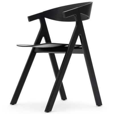 Horn Solid Side Chair (Black)