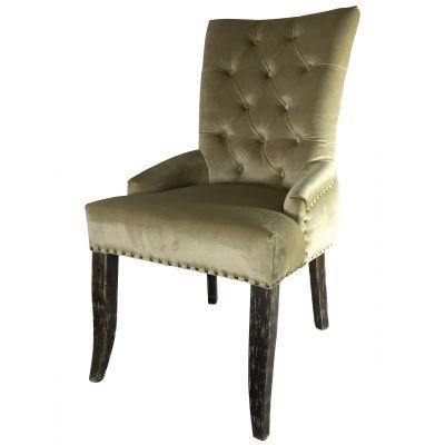 Jippy Deep Button Back Side Chair