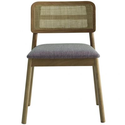 Laky Cane Back Stacking Side Chair