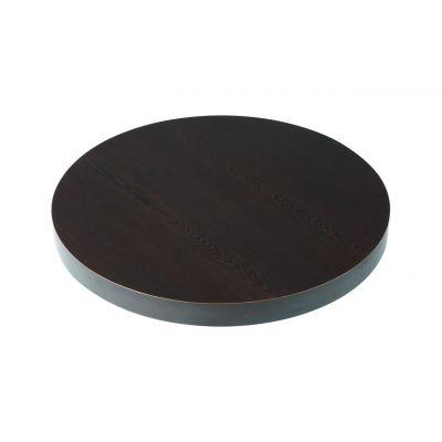 Round Deep Edge Laminate Table Top